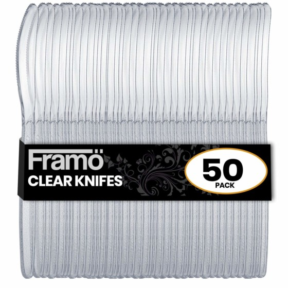 Framo Clear Plastic Knife