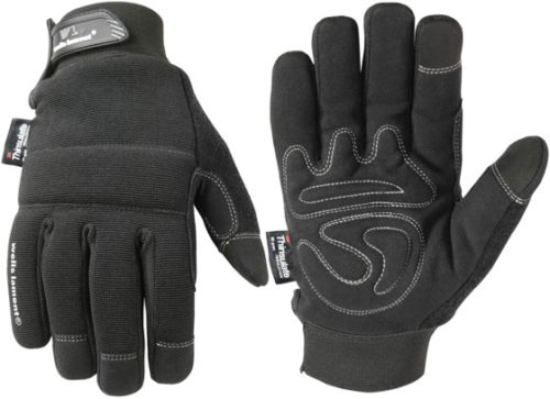 Men's Touchscreen Thinsulate Black Winter Gloves