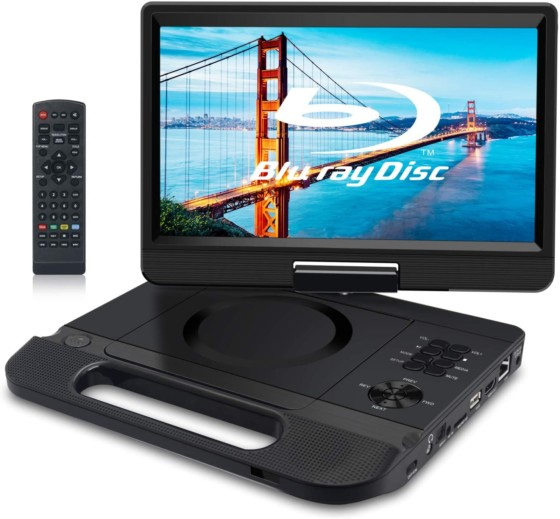 FANGOR 10.1-inch Portable Blu-Ray Player