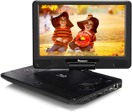 NAVISKAUTO 12-inch Portable Blu Ray DVD Player