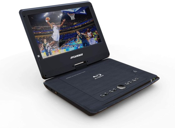 Sylvania 10-inch Portable Blu-Ray Players