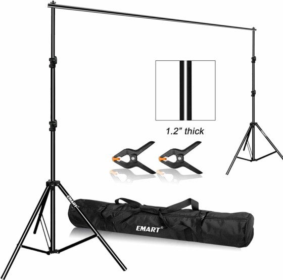 #01- Emart Photo Video Studi Background Stand Backdrop