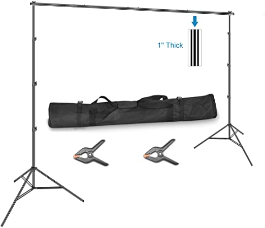 #06- Emart 10 x 12ft (H X W) Photo Backdrop Stand