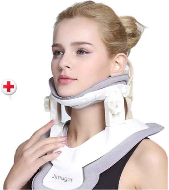 Neck Collar & Brace - Cervical Neck Traction Device