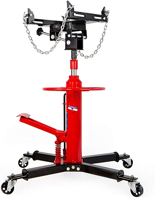 #3.Dragway Tools 1000 LB 2 Stage Hydraulic Transmission Jack