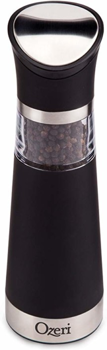#4 Ozeri Graviti Pro Electric Pepper Mill and Grinder