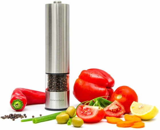 #6. Enhance Spice Best Pepper Grinder or Salt Grinder Mill