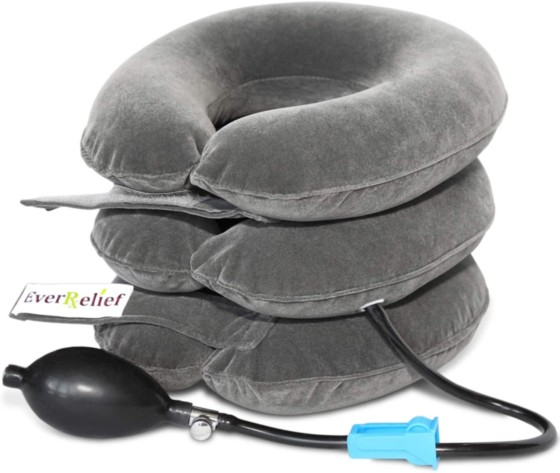 Cervical Neck Traction Device by EverRelief