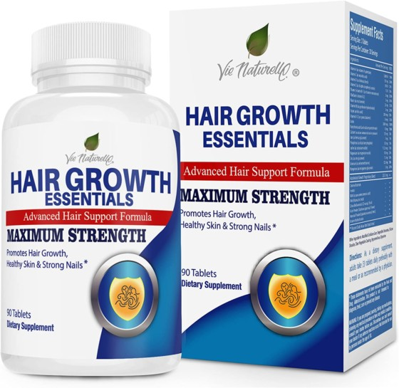 Hair Regrowth Vitamins for Women by Naturelle