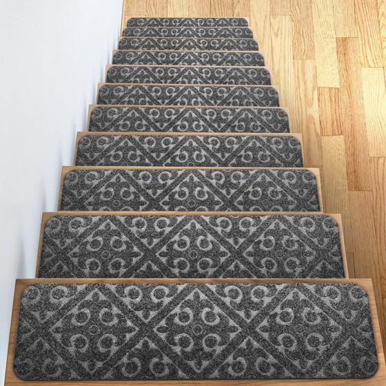 #10- Carpet Stair Treads Set Of 13