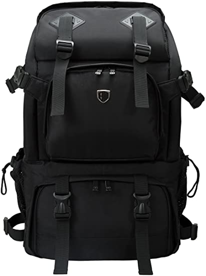 4 . BAGSMART Anti-theft Professional Gear Backpack