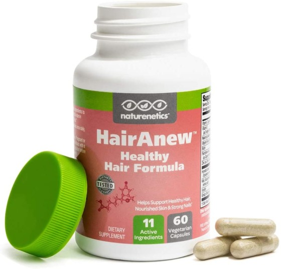 Naturenetics Hair Anew Trusted Hair Regrowth Supplement for Women