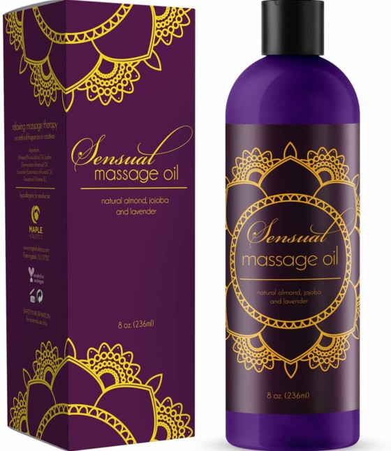 #08- Sensual Massage Oil
