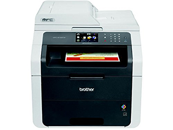 Brother MFC9130CW Wireless All-In-One Printer with Scanner, Copier, and Fax, Amazon Dash Replenishment Enabled