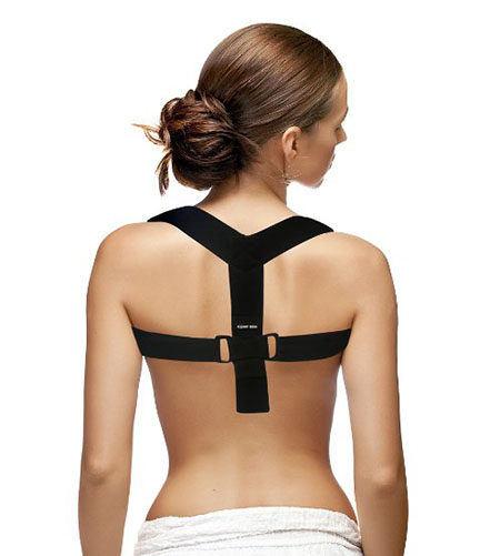 CAMP BEN (TM) Large Posture Shoulder Support Brace