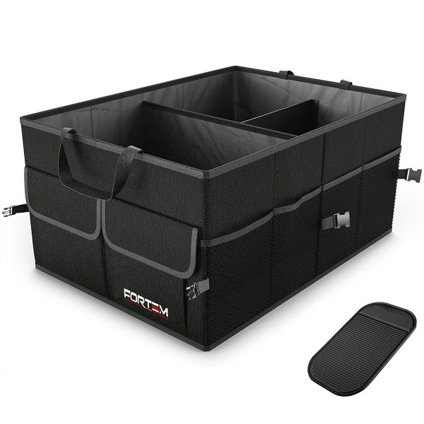 3. Car Trunk Organizer For SUV Truck - Auto Durable Collapsible Cargo Storage