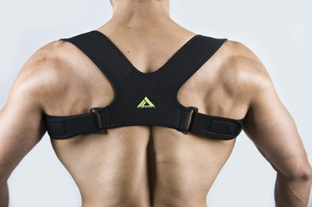 My Pro Supports Clavicle Brace Posture Corrector Support Strap