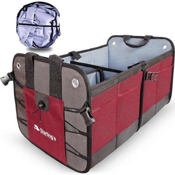 8. Car Trunk Organizer By Starling Eco-Friendly Premium Cargo Storage Container