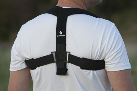 StabilityAce Upper Back Posture Corrector Brace and Clavicle Support
