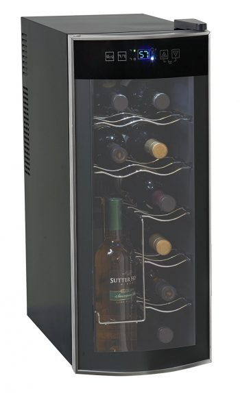 Avanti 12 Bottle Thermoelectric Counter Top Wine Cooler - Freestanding Wine Cellars