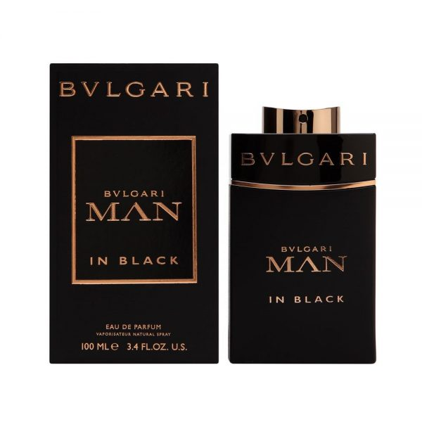 Bvlgari Man in Black Eau de Parfum Spray for Men -L ong-lasting colognes