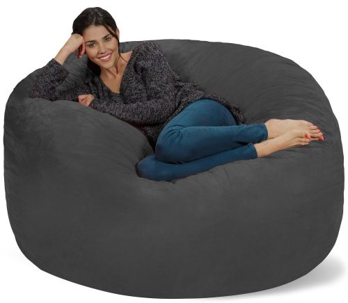 Chill Sack Bean Bag Chair: Giant 5' Memory Foam