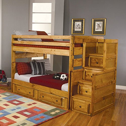 Coaster Home Furnishings Wrangle Hill Modern Rustic Bunk Bed