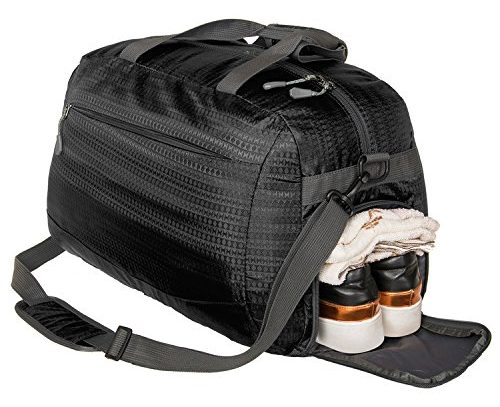 Coreal Duffle Bag Sports Gym Travel Luggage Including Shoes