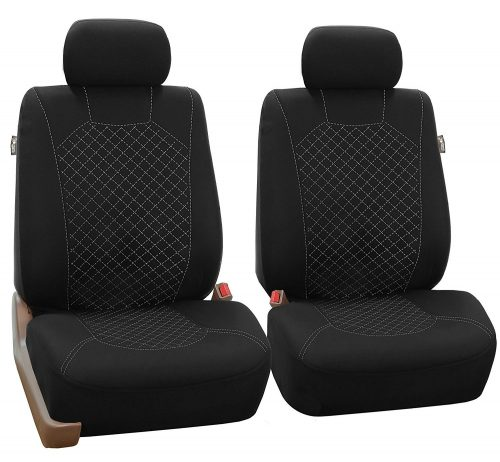 FH Group APRIL SALE FB066102 Ornate Diamond Stitching Car Seat Covers