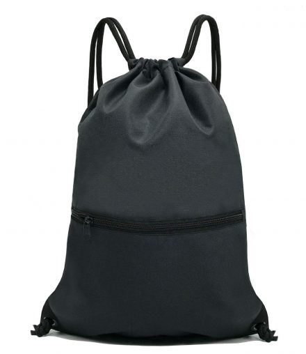HOLYLUCK Men & Women Sport Gym Sack Drawstring Backpack Bag