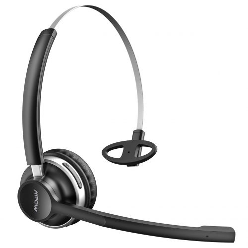 Mpow HC3 Bluetooth Headphones, Dual-Mic Noise Reduction