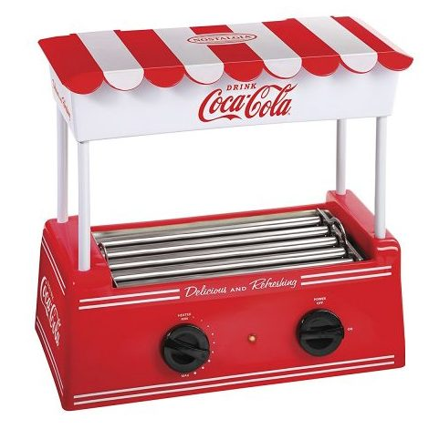 Nostalgia Large Coca-Cola Hot Dog Roller