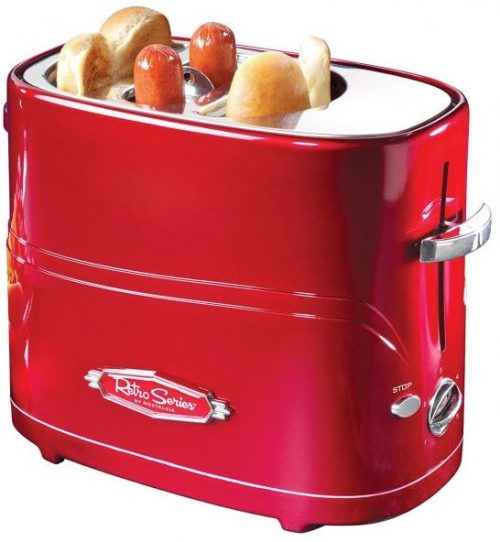 Nostalgia Retro Series Hot Dog Cooker