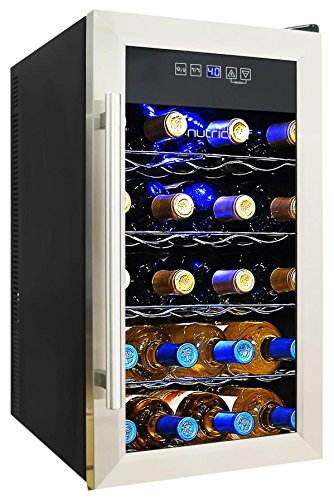 NutriChef 18 Bottle Thermoelectric Wine Cooler