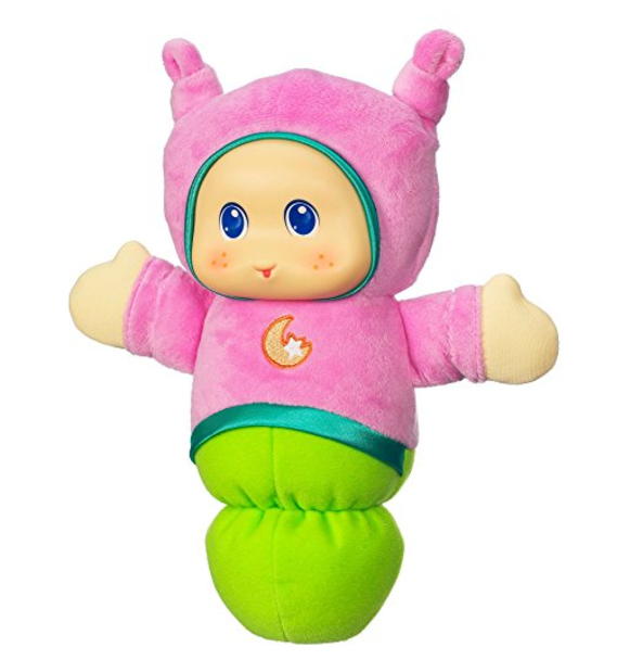 Playskool Play Favorites Lullaby Gloworm Toy (Pink)-Best Glow Worm Toys