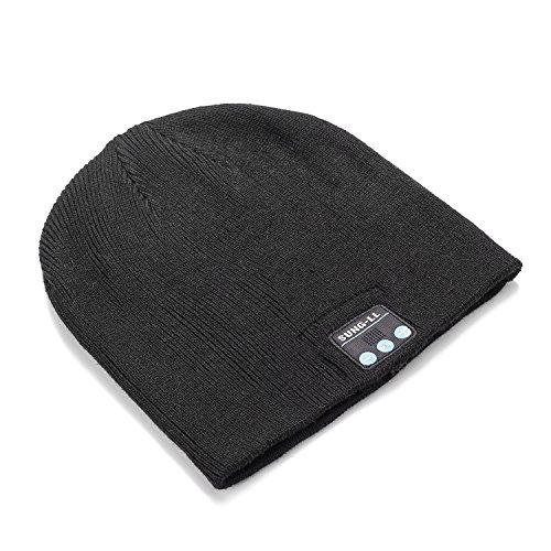 Sung-ll Soft and Warm Hat Wireless Beanie with Bluetooth Smart Cap Speaker