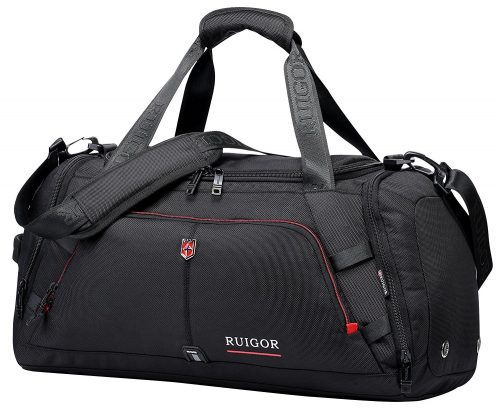 Swiss Ruigor 6407 Water Resistant Carry On Travel Duffel Bag