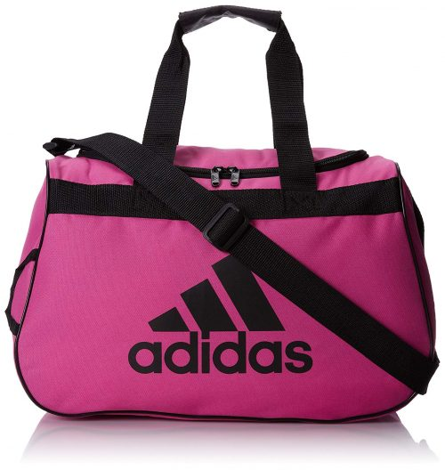 adidas Diablo Small Duffel Bag, Intense Pink/Black, One Size