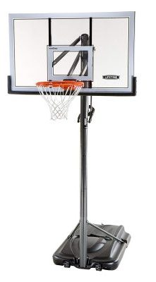 Lifetime 54 Inch Acrylic Portable Basketball Hoop: