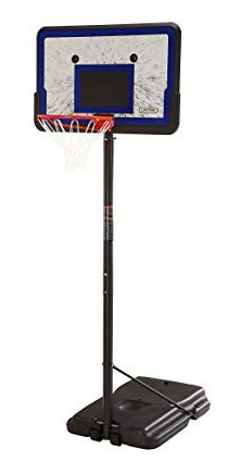Lifetime Portable Basketball Hoop with 44in Impact Backboard: