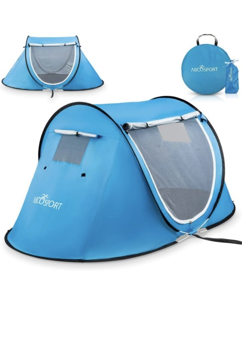 Abco Tech Doubled Doors camping tent for 2-Person
