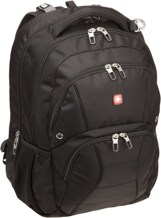 A Swiss TSA Friendly 17-Inch Laptop Backpack For College