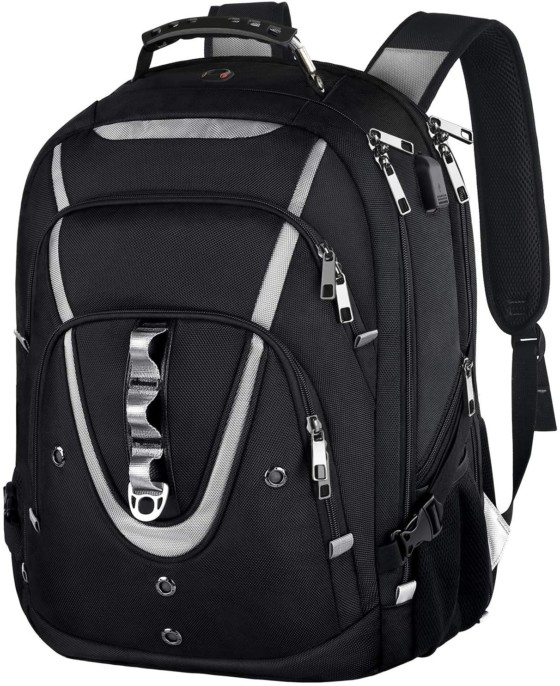 A RSA Friendly Laptop Backpack For A 17.3-Inch Laptop