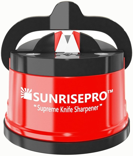 SunrisePro Electric Knife Sharpeners, Work for all Blade Types