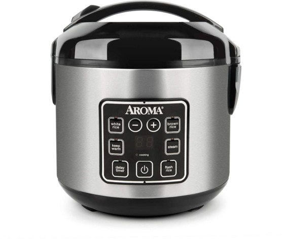 Aroma Cool Touch Digital Rice/Multicooker/Vegetable Steamers