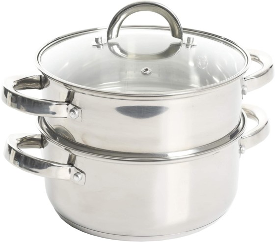 Oster Sangerfield Stainless Steel Vegetable Steamers