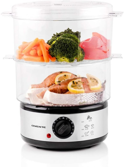 Ovente Electric Vegetable Steamers